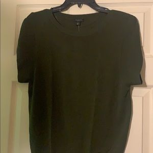 Olive green sweater shirt